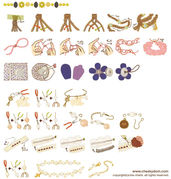 主婦と生活社『すてきな奥さん』ハピママ 手作りアクセサリー \u2014, 2013